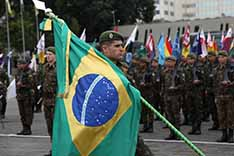 Dia do Soldado lota o Comando Militar do Sudeste