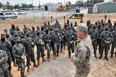 Culminating Exercise: after adaptation, Brazilian troops are qualified to jump in the U.S.A.