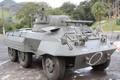 M-8 Greyhound: principal blindado utilizado pela FEB
