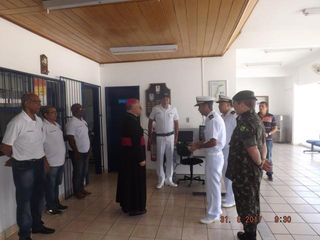 Visita do Arcebispo do Ordinariado Militar do Brasil à guarnição de Petrolina