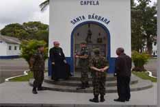Visita do Arcebispo Militar do Brasil