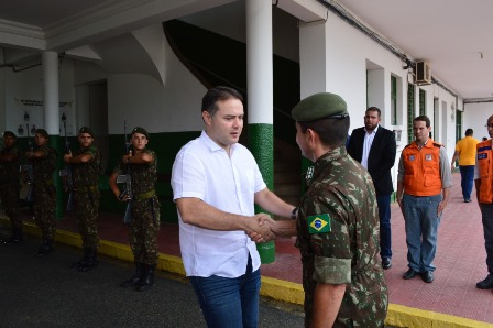 Visita do Governador de Alagoas